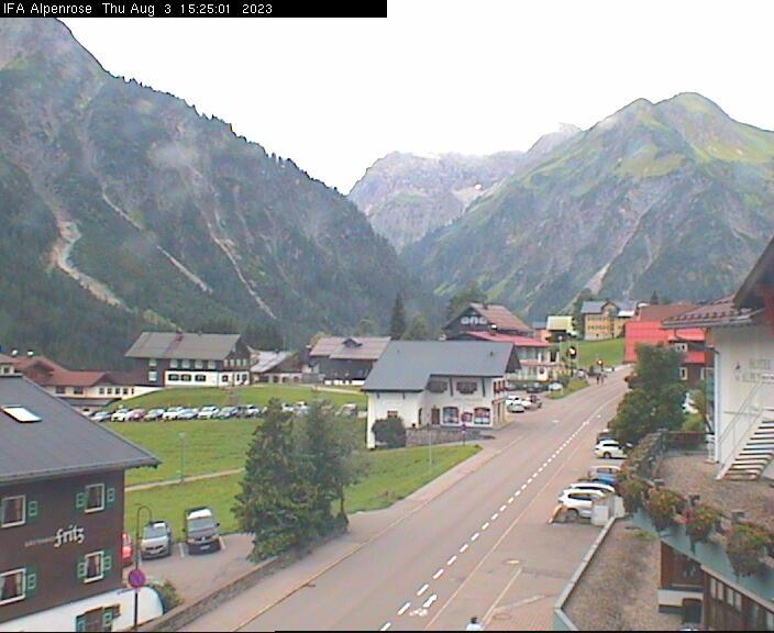 Mittelberg Dorf - Hotel Alpenrose