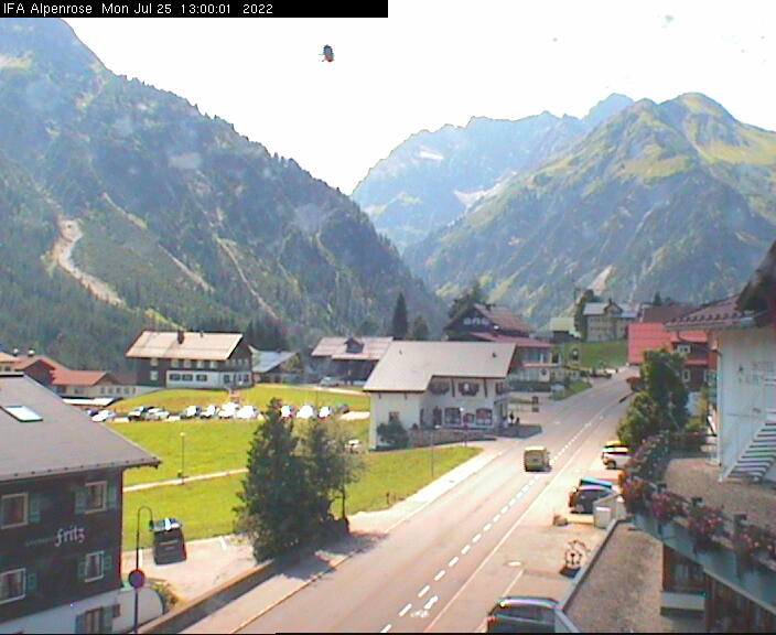 Webcam-Bild: Webcam - Hotel Alpenrose